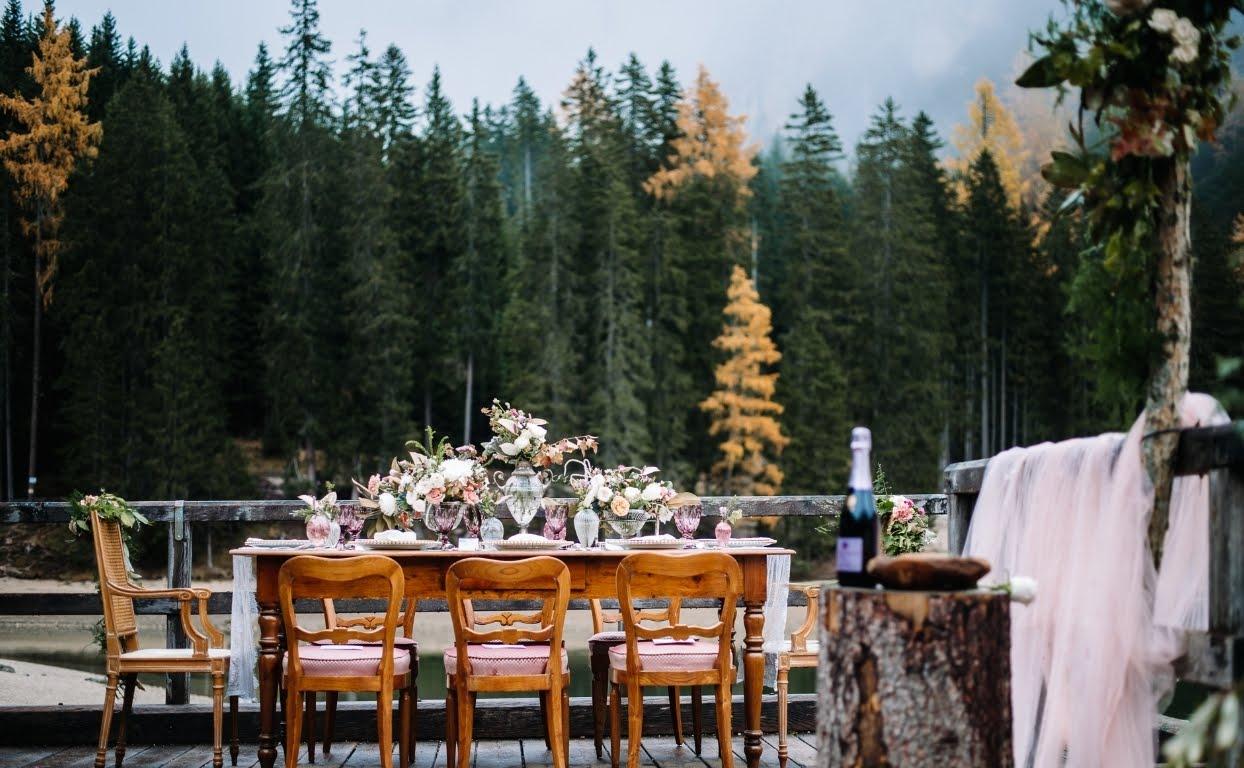 Casamento nas Montanhas Italianas